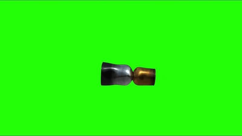 绿幕视频素材子弹