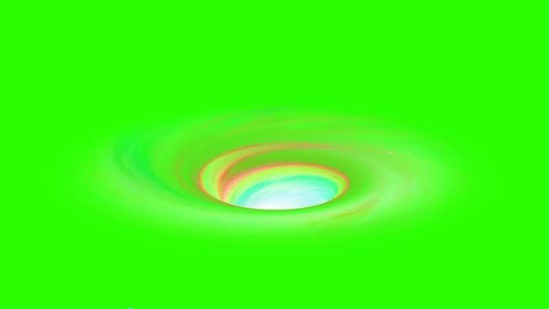 绿幕视频素材宇宙漩涡