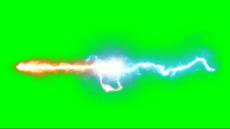 绿幕视频素材能量光束