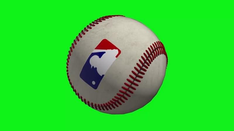 绿幕视频素材棒球