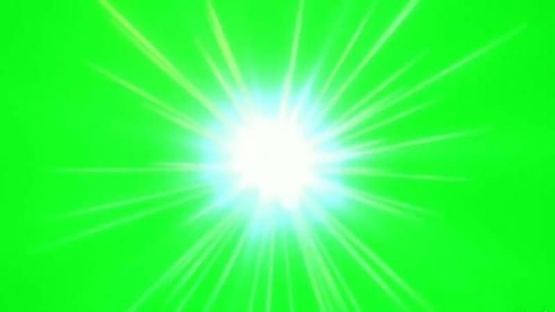 绿幕视频素材闪光