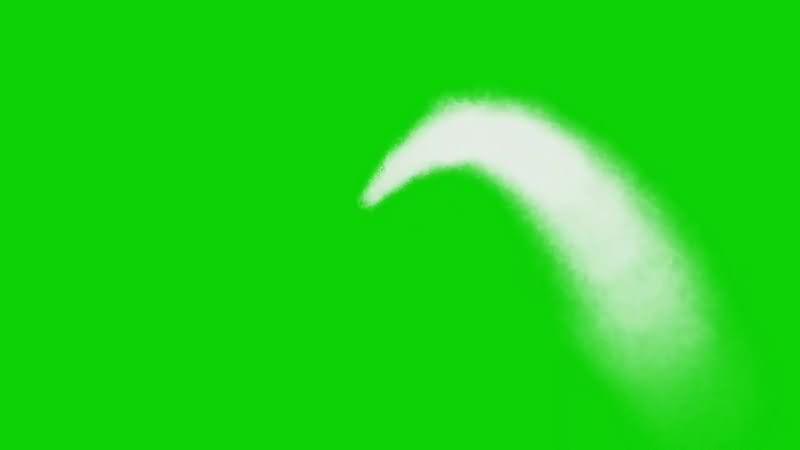 绿幕视频素材喷水