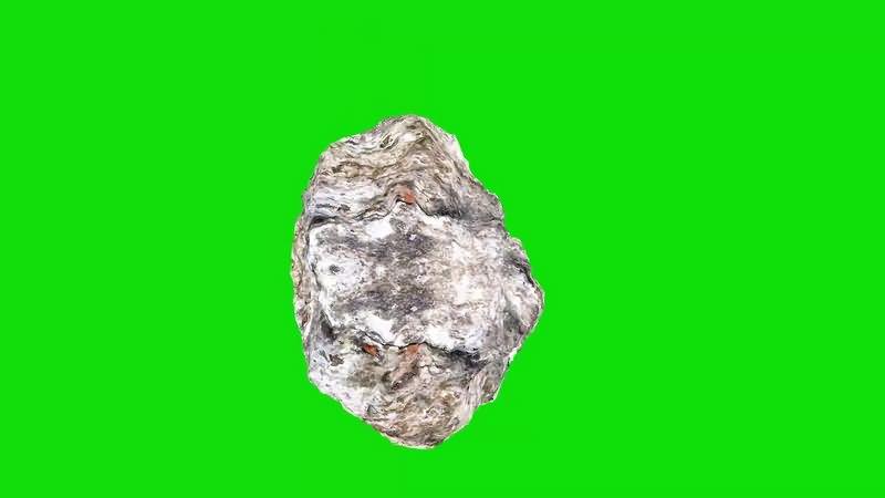 绿幕视频素材滚石