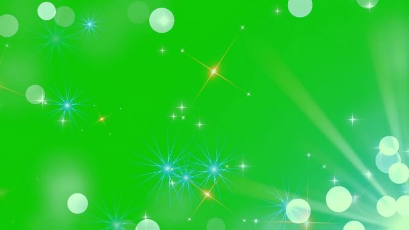 绿幕视频素材光斑