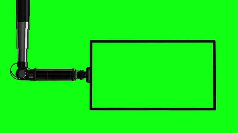 绿幕视频素材液晶电子屏