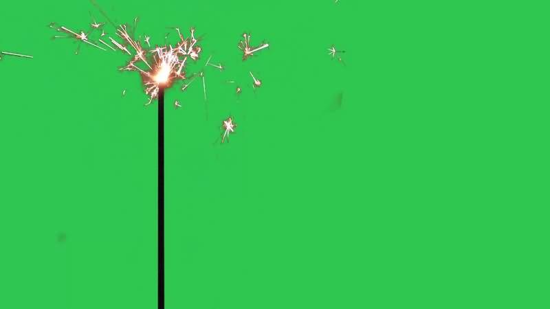 绿幕视频素材烟花