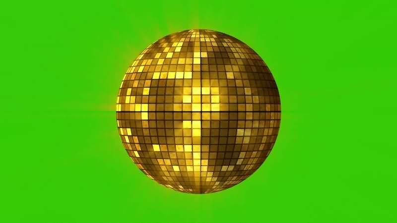 绿幕视频素材迪斯科球