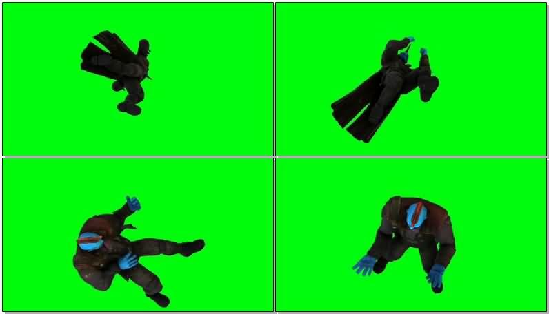 绿屏抠像银河护卫队勇度视频素材