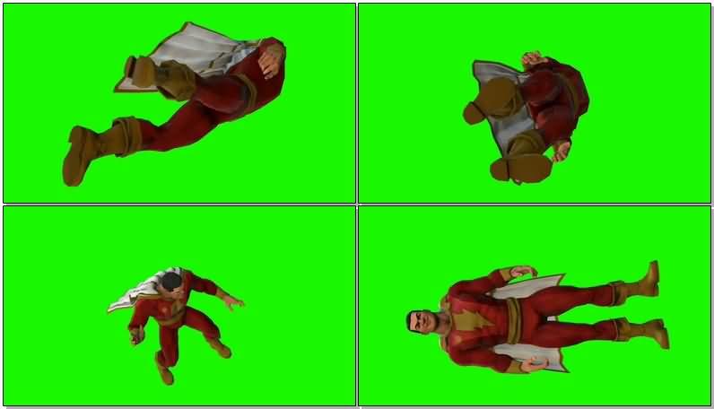 绿屏抠像DC人物神奇队长沙赞.jpg