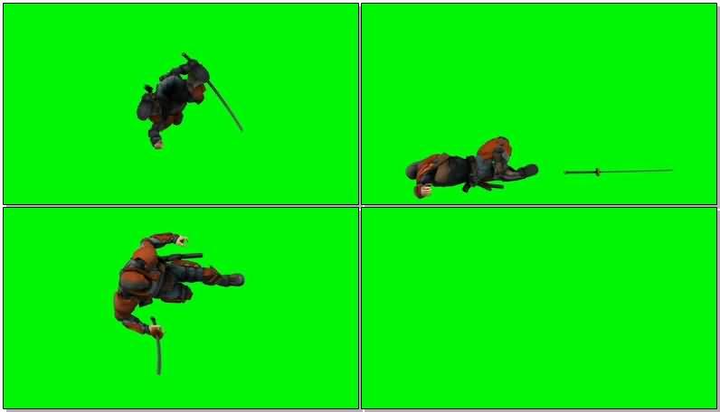 绿屏抠像DC人物丧钟视频素材