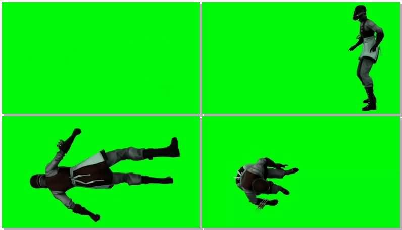 绿屏抠像DC人物毒药博士视频素材