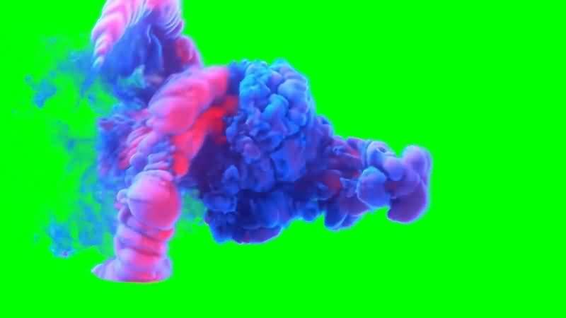 绿幕视频素材水墨