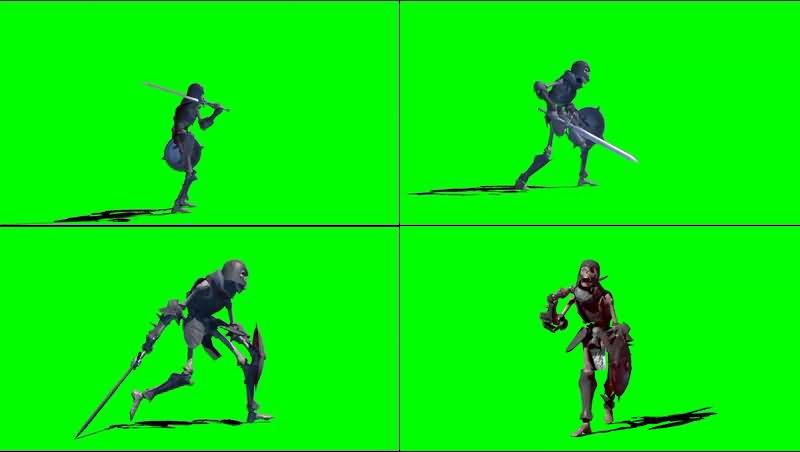 绿幕视频素材骷髅战士.jpg