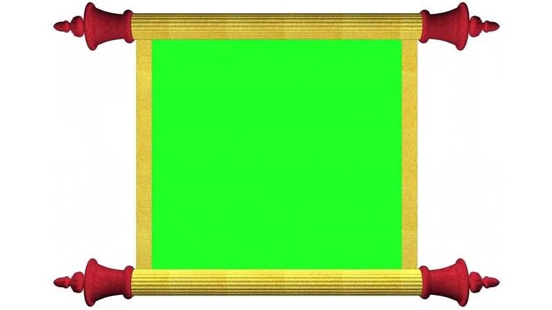 绿幕视频素材诏书皇榜